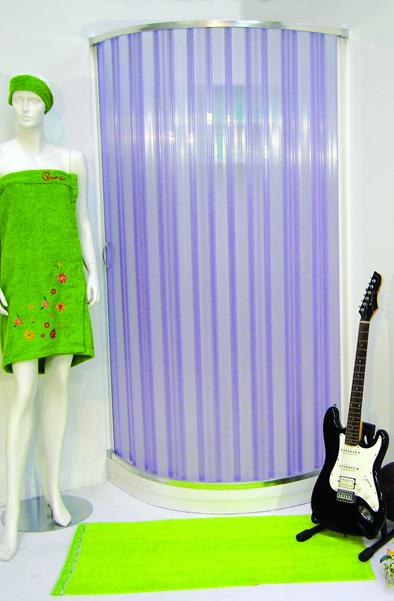 Box doccia in pvc spazio tende lecce tende da sole for Tende per doccia
