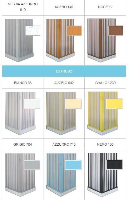 colori-box-doccia | spazio tende lecce - tende da sole zanzariere