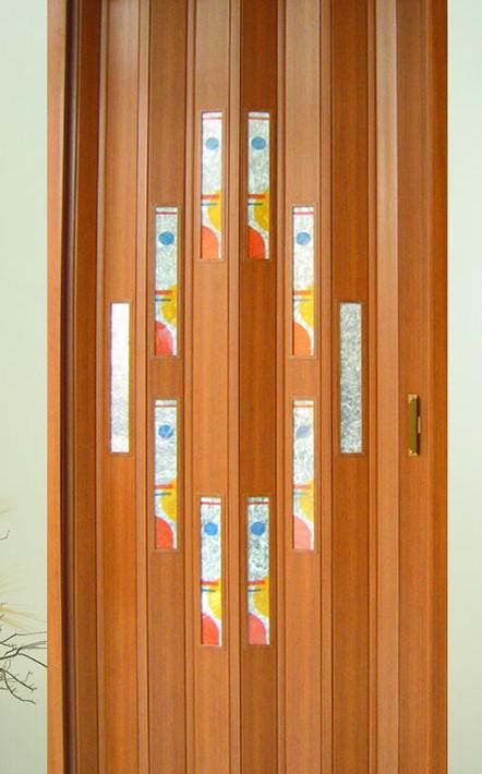 Porta pieghievole in pvc spazio tende lecce tende da sole zanzariere - Porta pieghevole ...